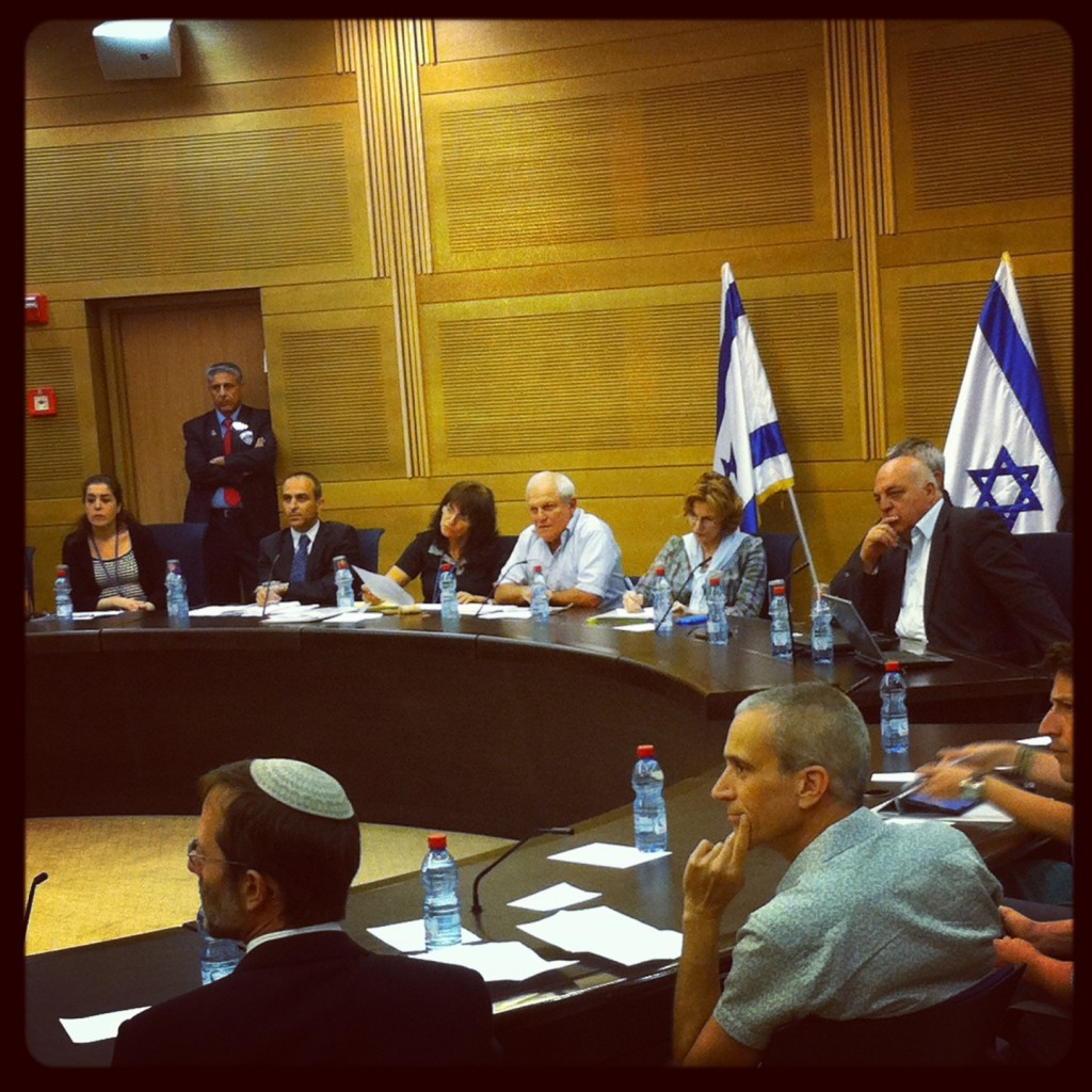 דיון בועדת הבריאות של הכנסת, אתמול 27 במאי
