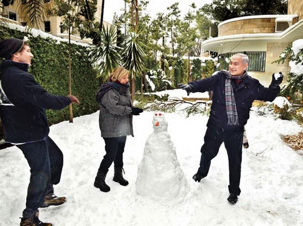 ינואר 2013, בית ראש הממשלה, ירושלים