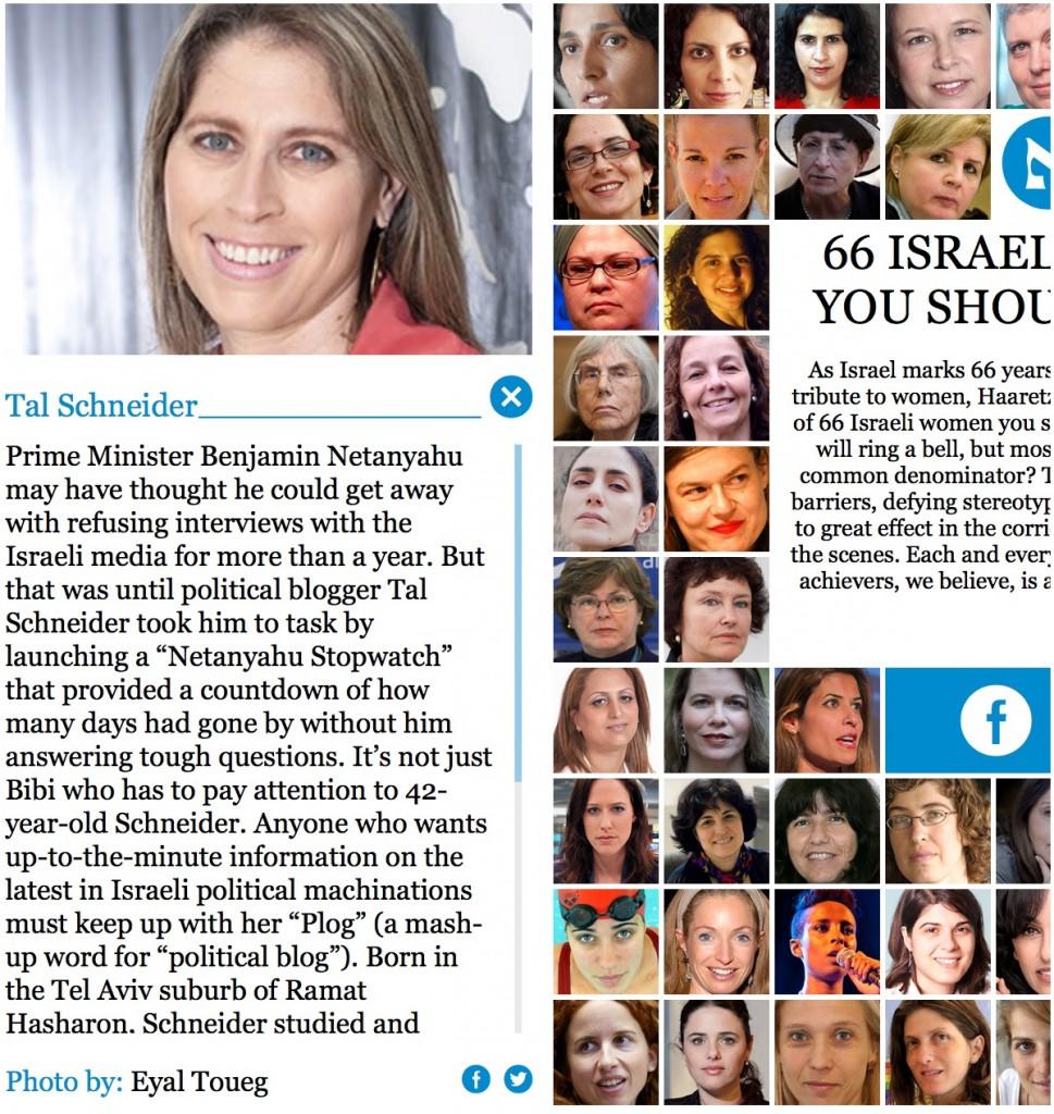 66 women Tal Schneider