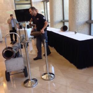 תערוכת הסברה נודדת ברחבי הכנסת, צוק איתן