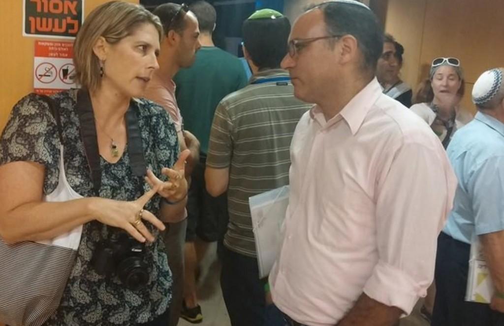 עם יגאל דילמוני סמנכל מועצת ישע