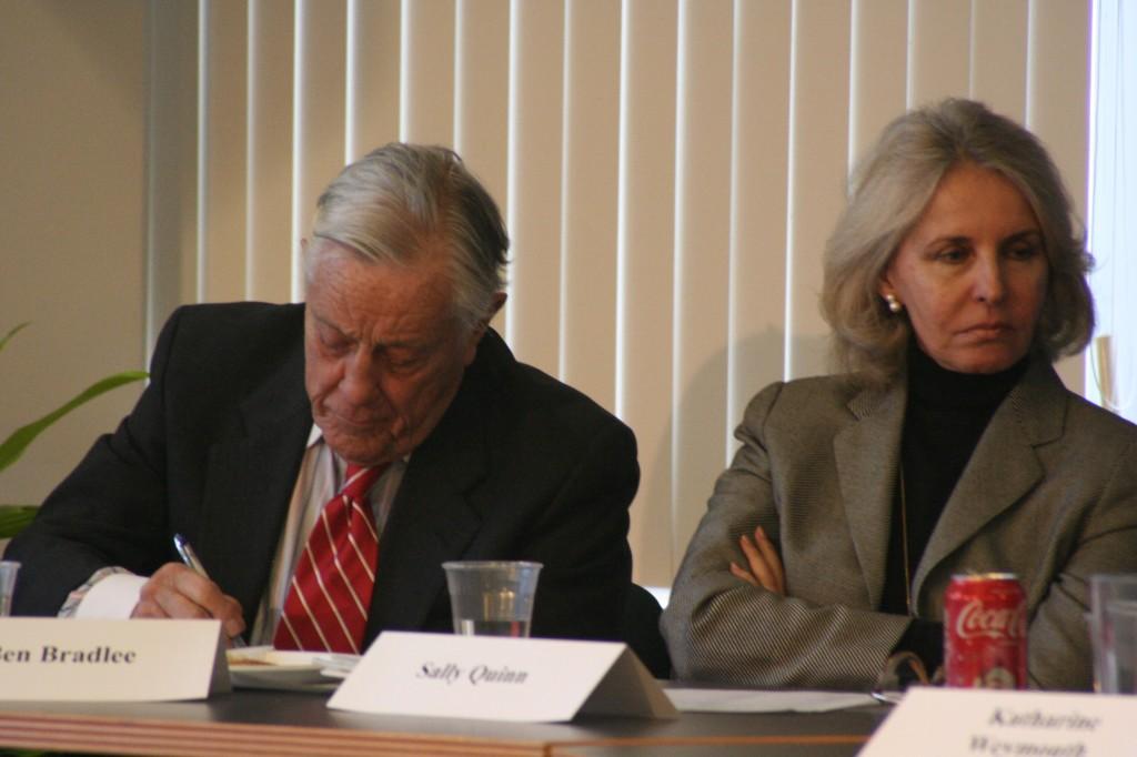 בן ברדלי, לשעבר העורך הראשי של הוושינגטון פוסט. צילום: טל שניידר, 2008, וושינגטון