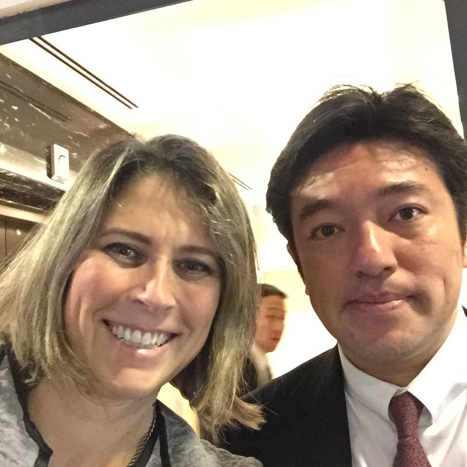 אתמול עם סגן שר החוץ היפני יאשויד נאקאיאמה (Yasuhide Nakayama)