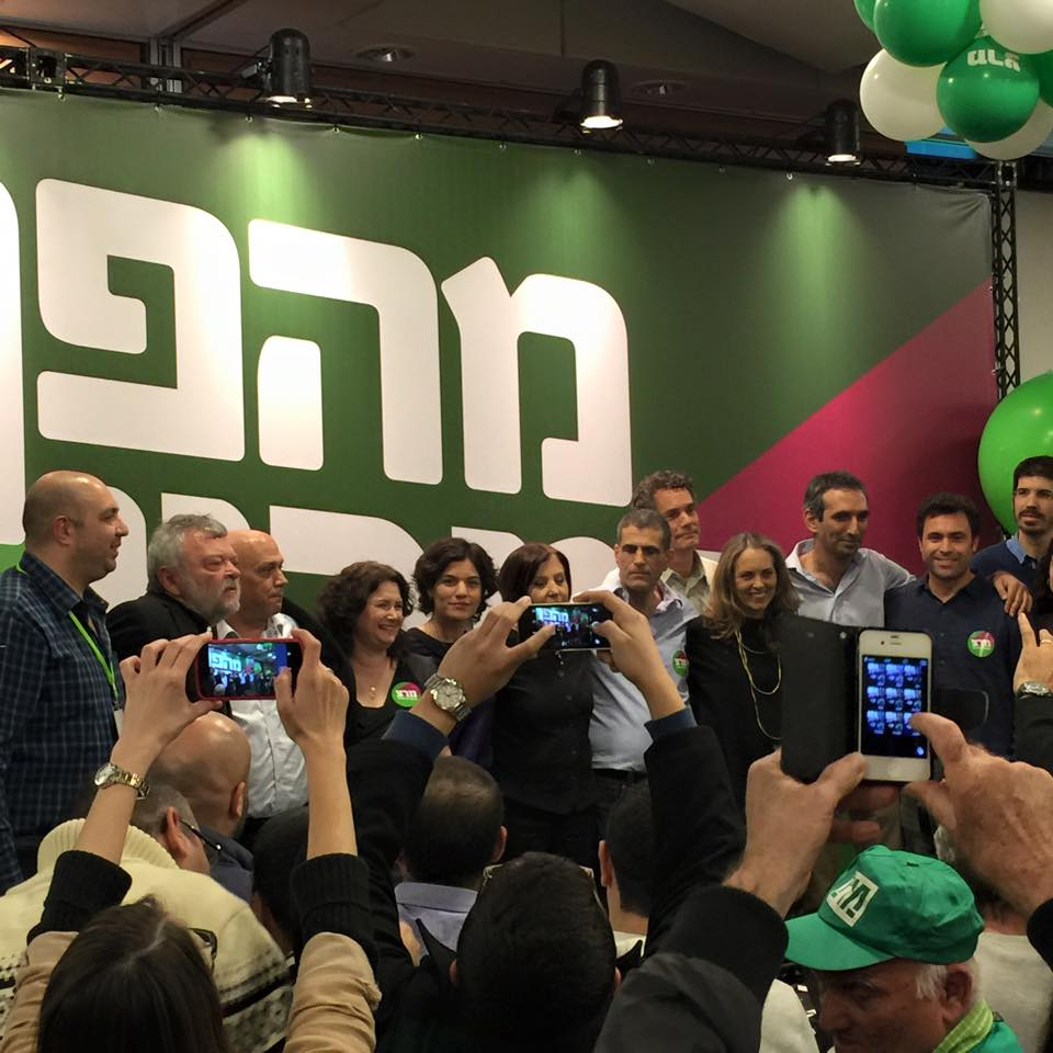תוצאות ההצבעה במרצ, 19 בינואר 2015