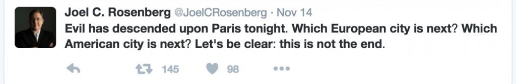 ציוץ 1 של רוזנברג