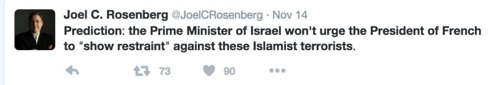 ציוץ 3 של רוזנברג