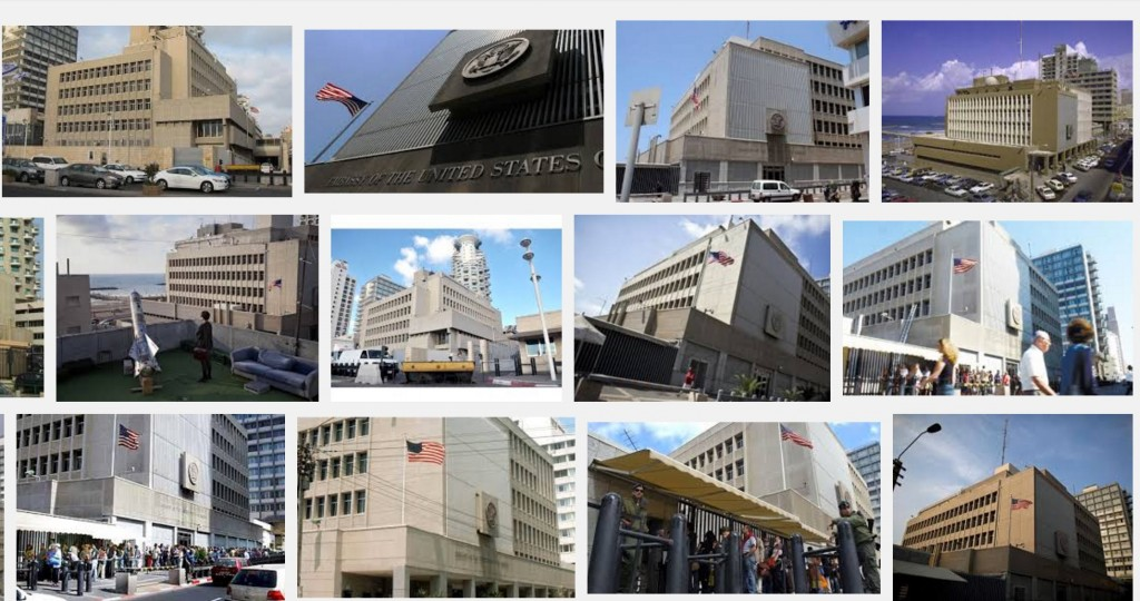 שגרירות ארה״ב בתל-אביב, לא פאר היצירה הארכיטקטית. אולי שפשוט יבנו חדשה בתל-אביב?