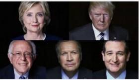 6 הערות על הפריימריס בארה״ב, קלינטון נגד טראמפ