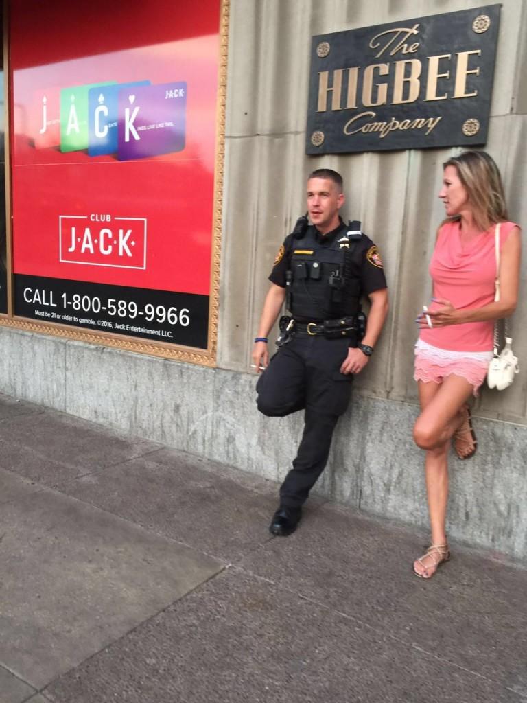 שוטרים בקליבלנד