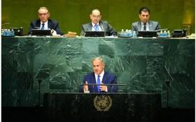 נאום נתניהו באו״ם עם ביאורים